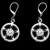 STERLING-SILVER-MAG-WHEEL-DANGLE-EAR-RINGS-WITH-LEVER-BACKS-(92.5)-TSH-110-APJ-MWLB.FIX