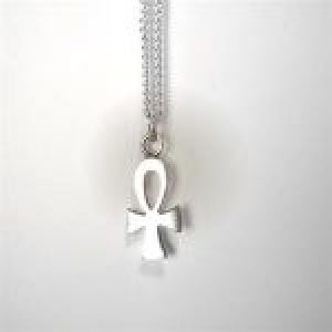 STERLING SILVER - SMALL ANKH CROSS PENDANT