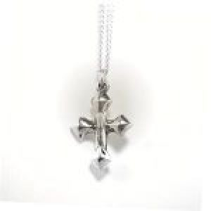 STERLING SILVER -STERLING SILVER - CROSS