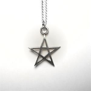 STERLING SILVER - STAR PENDANT