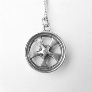 STERLING SILVER(92.5)-MAG WHEEL PENDANT