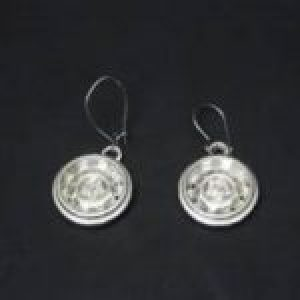 STERLING SILVER-MAG WHEEL EAR RINGS W/WIRES (92.5)   TSH-108-APJ-71 MWER