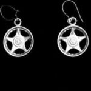 STERLING SILVER (92.5)MAG WHEEL-STAR-5-SPOKES