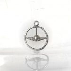 STERLING SILVER (92.5) STEERING WHEEL CHARM