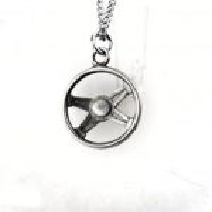 STERLING SILVER (92.5) STEERING WHEEL PENDANT