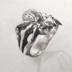 STERLING SILVER-SPIDER RING                                TSH-CJ-305