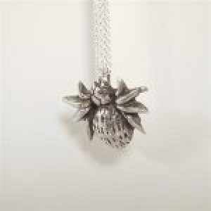 STERLING SILVER - SPIDER PENDANT