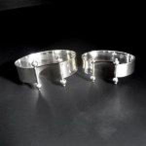 STERLING SILVER(92.5) - WEDDING CUFF BRACELETS