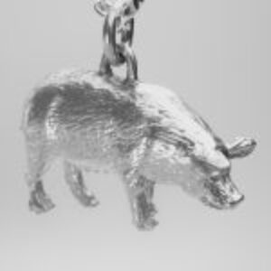 AMAZON- PIG-FA-P-901 FARM ANIMALS FACING RIGHT DSC01488