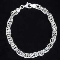 205B-APJ CHARM CLEAR BRACELET 8 INCH003 A reduced